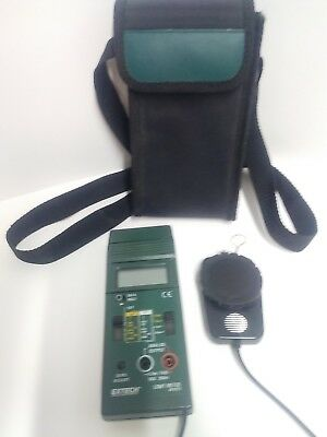 Extech 401025 Light Meter Foot Candle Lux Meter With Carrying Case