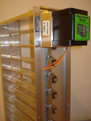 Motorized Zone Dampers - Durozone HVAC Motorized Zone Control Spring Return Large Rectangular Damper