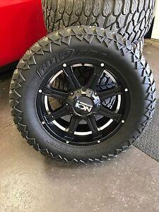 Ram 1500 Ion Alloy Wheels 35 x 12.5 x 20 LT Gripper Tires