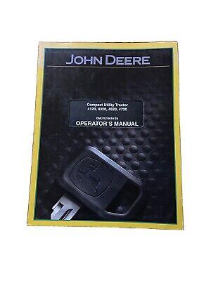 John Deere Compact Utility Tractor 4120 432045204720 Op. Manual Omlvu19619