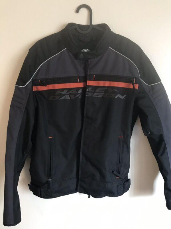 Mens Harley Davidson Tactful Racing Motorcycle Jacket Large L Padded $200
