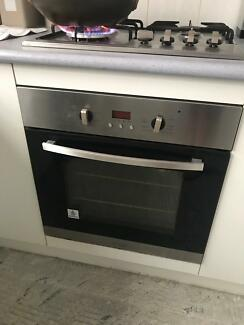 Stainless Steel Oven, cooktop and range hood