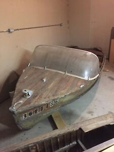 Cedar strip boat