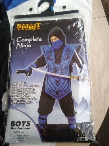 Spirit InComplete Ninja Kids Costume - Size X-Large (14-16) - Blue - INCOMPLETE