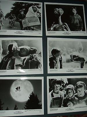 Original E.T. Extra-Terrestrial Movie Press Kit 1982 Photos Steven Spielberg