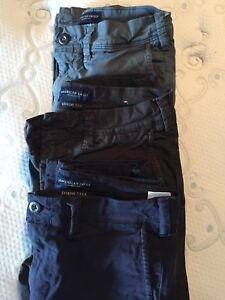 American Eagle Size 26 x 30 pants $50 for all 3