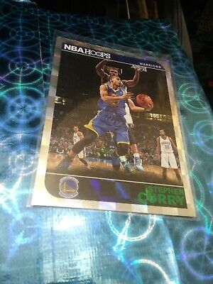 2014/15 Nba Hoops Stephen Curry Green/Silver🔥