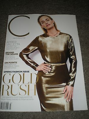 Amber Valletta   C Magazine   March 2014
