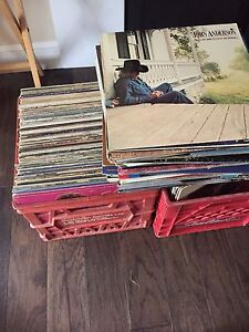 Country records/lp's