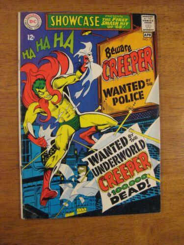 SHOWCASE #73, Creeper (Ditko!) Key! (VF-) Super Bright, Colorful & Glossy!