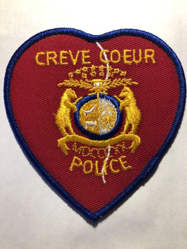 RARE ~ Vintage Creve Coeur Missouri Police Patch