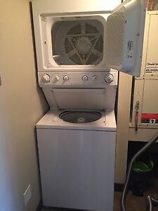 Stacking washer dryer combo