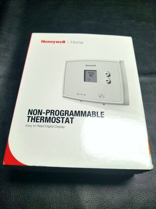 Used Honeywell Digital NON-Programmable Thermostat RTH111B (Great shape)