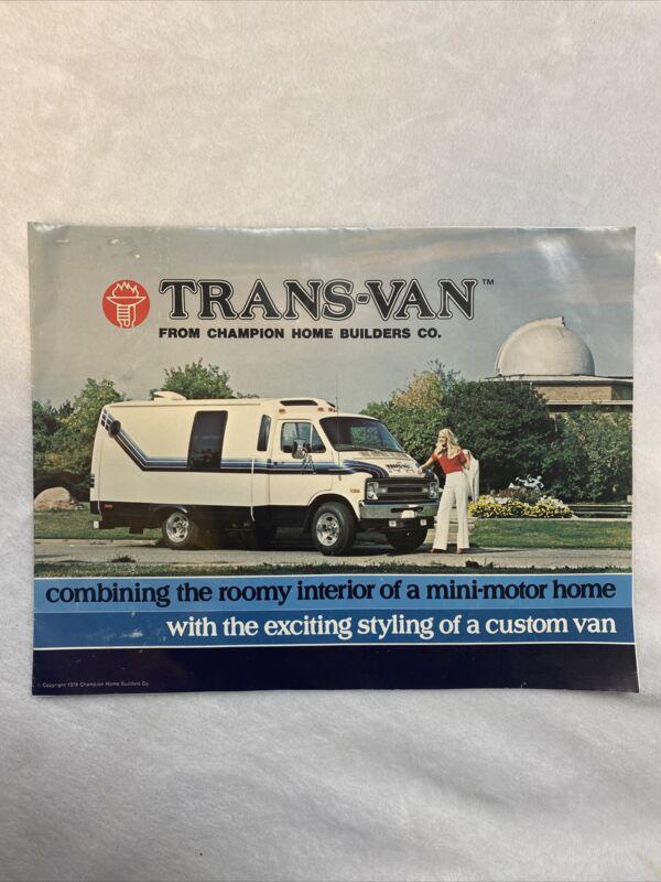 1978 Trans-Van Brochure