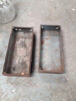 Vintage industrial metal drawers