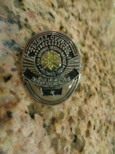 """Tribal Officer Pin Indian Reservation 1"""""""
