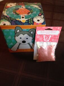 Scentsy Homer The Husky brand new with bubblegum satchel  $40.00