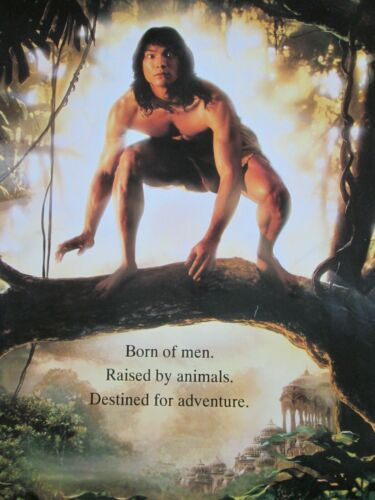 Disney JUNGLE BOOK 1994 Original THEATER-USED Movie Poster 27x40 Sheet DS - C8