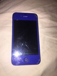 Blue IPhone 4