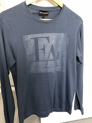 Emporio Armani Long Sleeved T-Shirt Men Size M