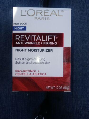 L Oreal Paris Revitalift Anti Wrinkle Firming Anti-Aging Night Cream, 1.7 Oz. - $7.30