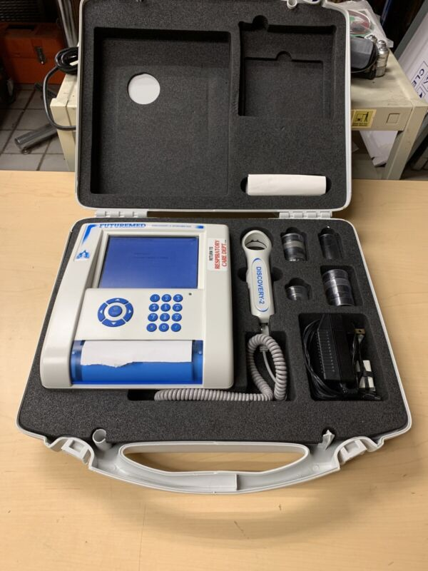 Futuremed Discovery-2 Spirometer with Case - Respiratory Care