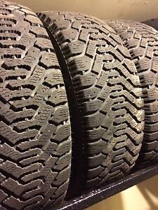4 GM 15R snow tires and rims for sale - in great condition