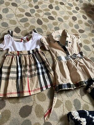 Bundle Of Girls Burberry Dress