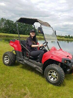NEW UTV 150 BUGGY 150CC AUTOMATIC ATV TOW BAR WINCH QUAD MULE GATOR FARM RANGER