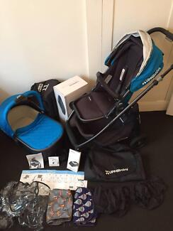 2015 UPPAbaby Alta Pram, Bassinet and Accessories