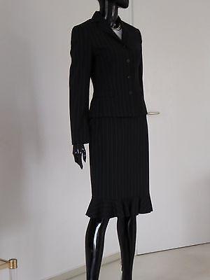 feines Kostüm WINDSOR Gr. 34 schwarz / Nadelstreifen NEUwertig für Businiss (Nadelstreifen Damen Kostüme)