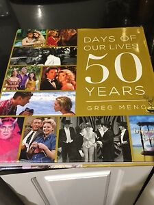 Days of our Lives commemorative 50th Anniversary book edition!