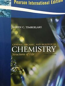 K. Timberlake. General, Organic and Biological Chemistry Moorooka Brisbane South West Preview