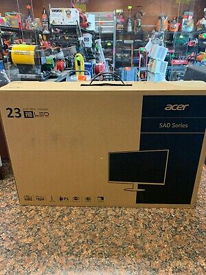 "Acer - SA230 23"" IPS LED FHD Monitor - Black - RS"