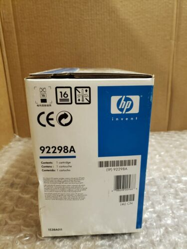 HP LASERJET PRINT CARTRIDGE, 98A ~ NEW (14)