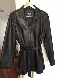 Dolce and Gabbana leather jacket Narrabundah South Canberra Preview