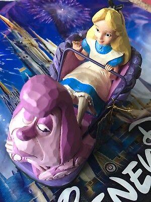Alice In Wonderland Figurine (Disney Parks Alice in Wonderland Disneyland Attraction Figurine Jim Shore )