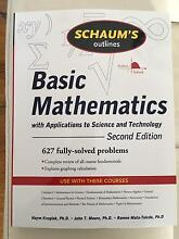 Schaum's Outlines Basic Mathematics (2nd Edition) Elermore Vale Newcastle Area Preview