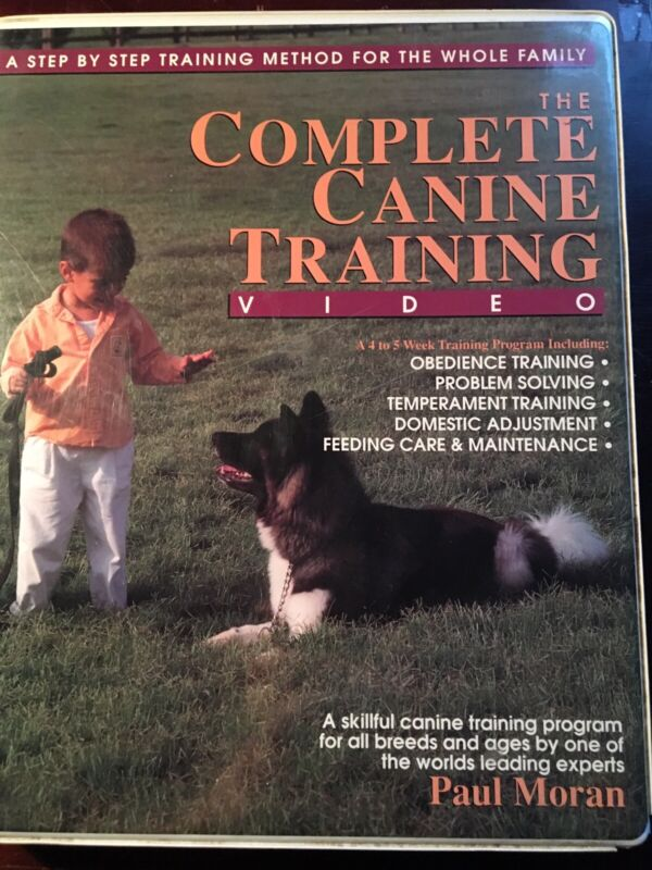 The Complete Canine Training Video 2 VHS Series