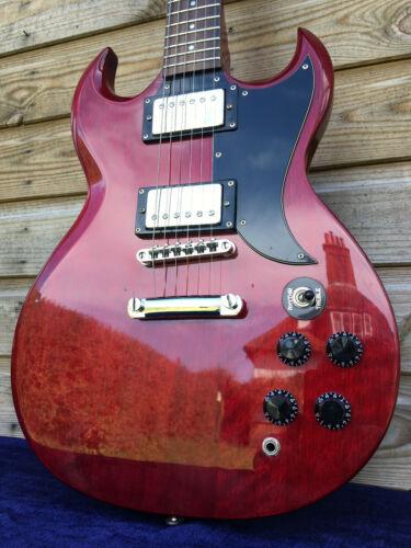 Vintage SAMICK SG Electric Guitar Greg Bennett sig Torino TR1 Gloss Cherry Red