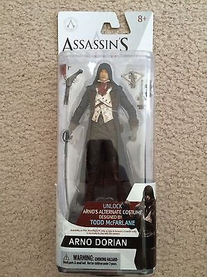 Assassin's Creed Unity: Arno Dorian - McFarlane Toys Figure NEW In Box Free Ship](Assassin's Creed Unity Arno)