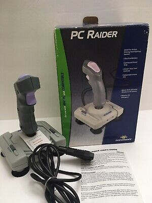 Performance PC Raider Joystick SV-206 IBM PC and Compatible Retro Gaming