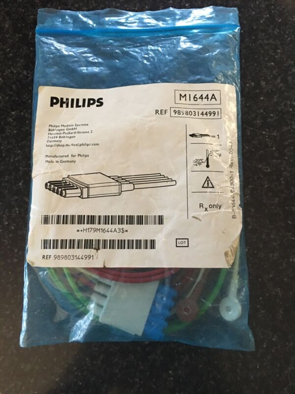 Philips M1644A CBL 5 Leadset