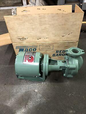 Nos Taco Red Baron 110-24 Series 100 Cast Iron Circulator Pump 112 Hp 115v