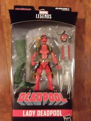 Marvel Legends Lady Deadpool 6-Inch Action Figure Series BAF Sauron