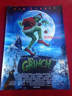 Der Grinch Kinoplakat Poster A1, Jim Carrey