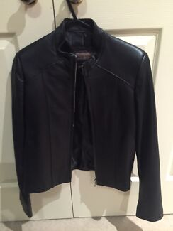 Brand new women's black leather jacket Colyton Penrith Area Preview