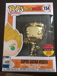 Selling Super Saiyan Vegeta #154 Funko (SDCC)