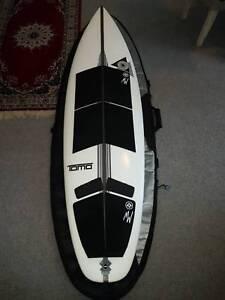 """Surfboard package - Firewire 6'1"""" SKX, Fins & Boardbag"""