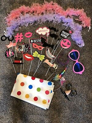 16th Birthday Party Photo Booth Supplies 25 Pieces SWEET SIXTEEN